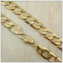 18k gold plated necklace 1430027