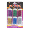 6 Colors 12g Glitter Powder