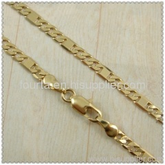 18k gold plated necklace 1440090