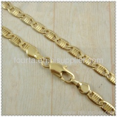 18k gold plated necklace 1440136