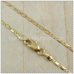 18k gold plated necklace 1440220