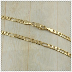 18k gold plated necklace 1420255