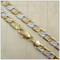 18K gold chain 2410008
