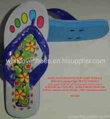 slipper style Acryl keychain