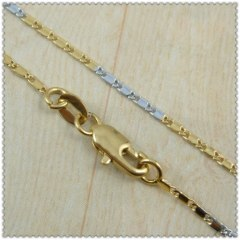 18k gold plated necklace 2420009