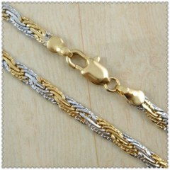 18k gold plated necklace 2420018
