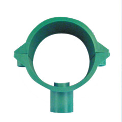 Ductile plastic enter Tube Clamp with screw