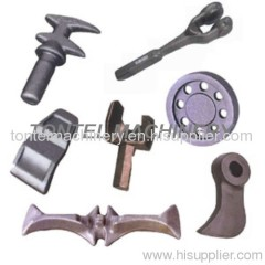Close die forging parts-auto parts