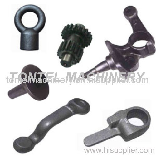 Close die forging parts-custom close die forging