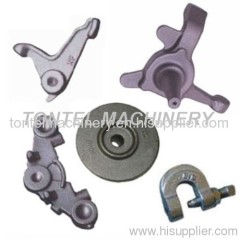 Close die forging parts-mould flange
