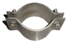Ductile metal Tube Clamp