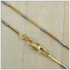 18k gold plated necklace 2420021