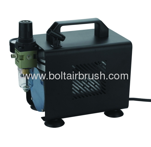 Piston airbrush compressor
