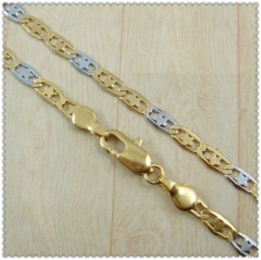 18k gold plated necklace 2420029