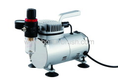 Low noise 1/5 HP Airbrush compressor