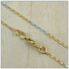18k gold plated necklace 2420044
