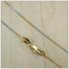 18k gold plated necklace 2420047
