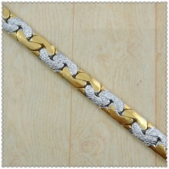 18k gold plated necklace 2430009