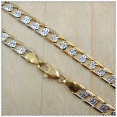 18k gold plated necklace 2440015
