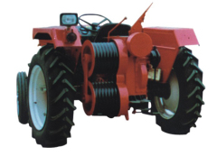 sagging tractor