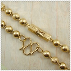 18k gold plated necklace 3410003