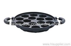 Circular Pancake Pan Die Cast Aluminum