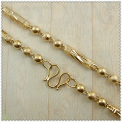 18k gold plated necklace 3410045