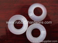 Silicone rubber washer and gasket