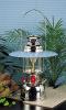 SILVER Antique butterfly kerosene lantern