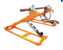 Conductor tensioning Drum Stand