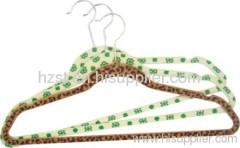 Velvet Plastic hanger
