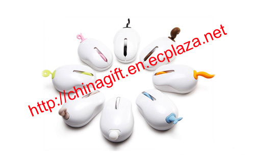 Funny Tail Wireless Computer Mouse
