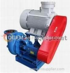 Shearing pump-Overhead belt drive