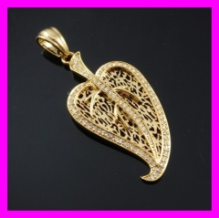 18k gold plated pendant 1620269