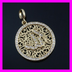 18k gold plated pendant 1620306