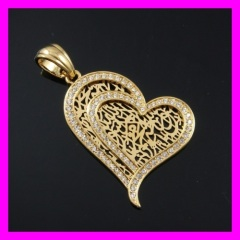 18k gold plated pendant 1620540