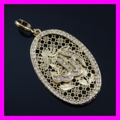 18k gold plated pendant 1620190