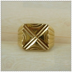 18k gold plated ring 1310004