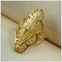 18k gold plated ring 1310007