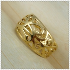18k gold plated ring 1310049