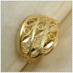 18k gold plated ring 1310087
