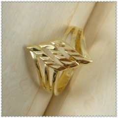 18k gold plated ring 1310102