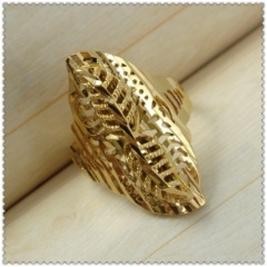18k gold plated ring 1310103