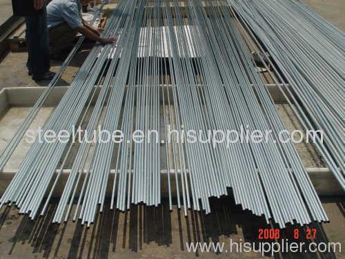DIN2391 NBK galvanized steel pipe