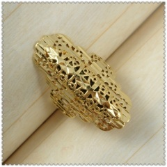 18k gold plated ring 1310106