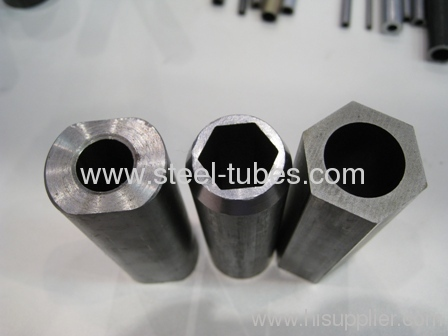 Hexagon Steel Tubes Out diameter Round inside diameter
