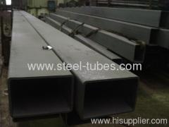 Rectangle steel tubes