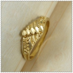 18k gold plated ring 1310137