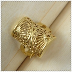 18k gold plated ring 1310151