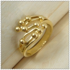 18k gold plated ring 1310160
